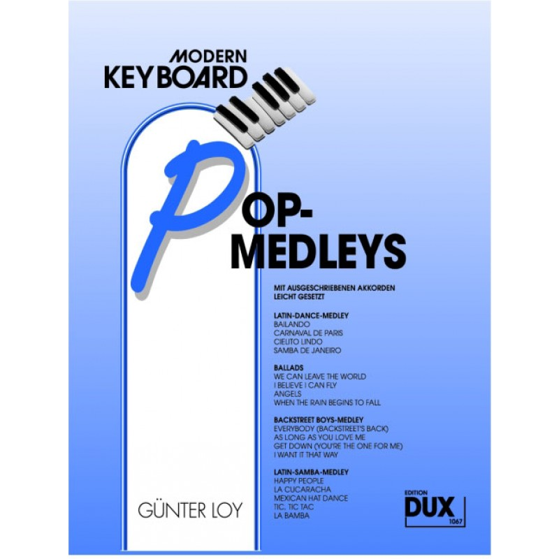 Pop Medleys - Spielbücher - Keyboard