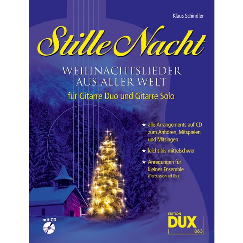 Stille Nacht - Weihnachtslieder aus aller Welt - Weihnachten - Gitarre