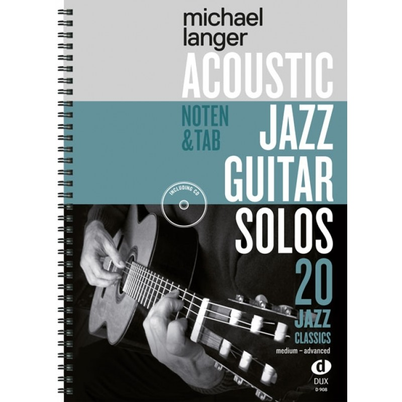 Weihnachtslieder Jazz Noten.Acoustic Jazz Guitar Solos