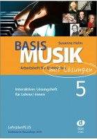 Basis Musik 5 - Arbeitsheft digital