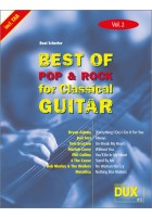 Best of Pop & Rock for Classical Guitar Vol. 2