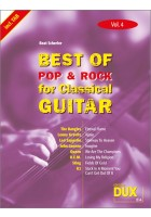 Best of Pop & Rock for Classical Guitar Vol. 4