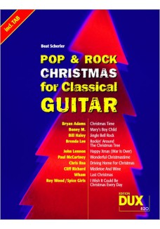 Pop & Rock Christmas for Classical Guitar