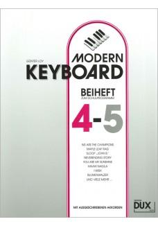 Modern Keyboard, Beiheft 4-5