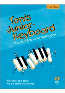 Tonis Junior Keyboard  ab 5 Jahre