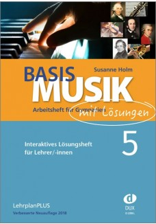 Basis Musik 5 - Arbeitsheft digital