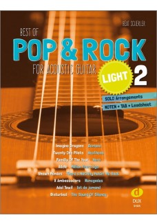 Best of Pop & Rock for Acoustic Guitar light 2