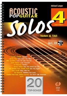 Acoustic Pop Guitar Solos 4