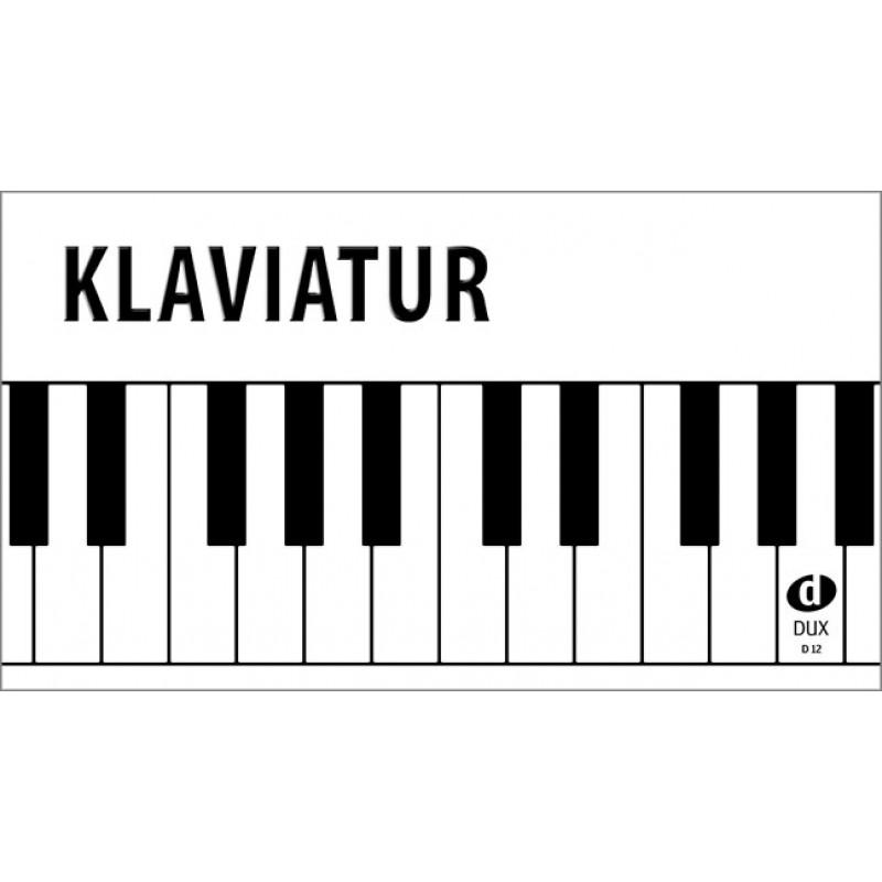 klaviatur  klavier
